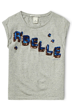 SCOTCH R'BELLE - Embellished Tee