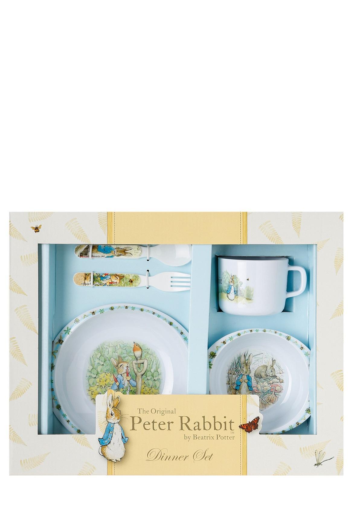Myer Online - CategoryName. «»  sc 1 st  Myer & Beatrix Potter | 5 Piece Melamine Dinner Set | Myer Online