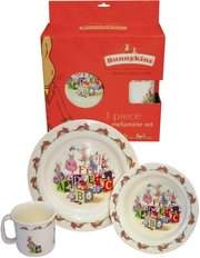 ABC 3pce Melamine Dinner Set