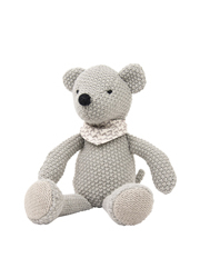 Weegoamigo - Mouse Pearl Knit Toy