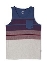 Bauhaus - Yarn Dye Singlet With Pocket