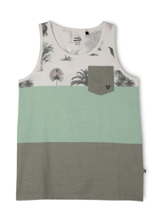 Bauhaus - Block Print Singlet With Pocket