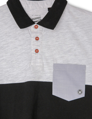 Bauhaus - Spliced Polo with Pocket