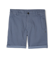 Bauhaus - Stretch Aop Chino Short Side Entry Pockets