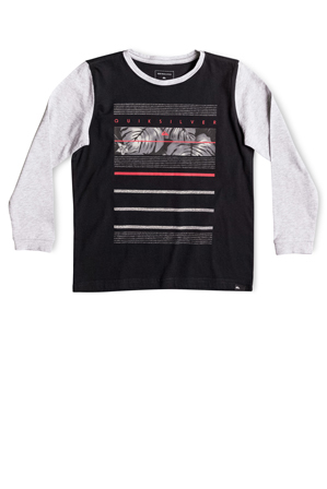 Quiksilver - Raw Lines Long Sleeve T-Shirt