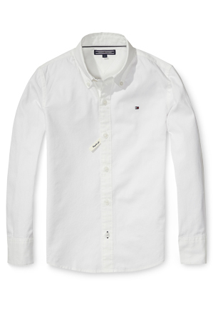 Tommy Hilfiger - Solid Oxford Shirt