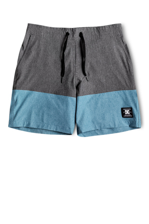 DC - Red Would Boardshorts