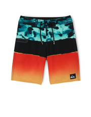 Quiksilver - Blocked Resin Boys Boardshorts