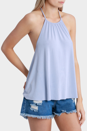Milk & Honey - Gather Neck Top