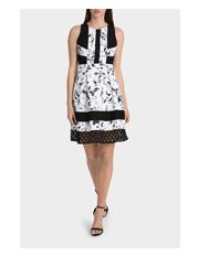 Tokito Collection - Patchwork Lace Dress