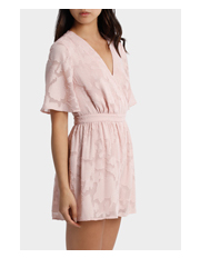 L/A Collective - Applique Georgette Playsuit