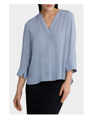 Tokito - Piped Split Cuff Shirt