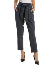 Tie Waist Tapered Pant
