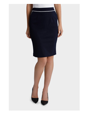 Tokito City - Piped Pencil Skirt