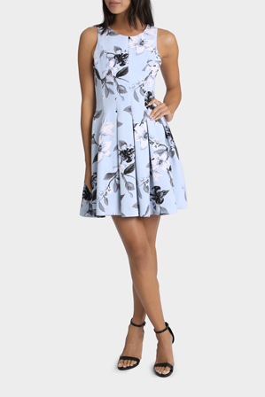 Tokito - Pleasantly Pleated San Fran Floral Dress