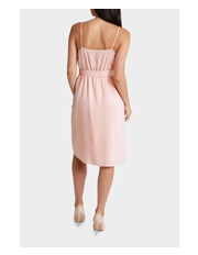 Tokito - Soft V Neck Midi Dress