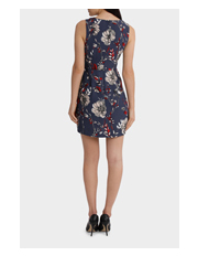 Tokito - Corseted Elizabeth Floral Shift Dress