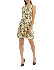 Tokito - flippy floral dress - willow print