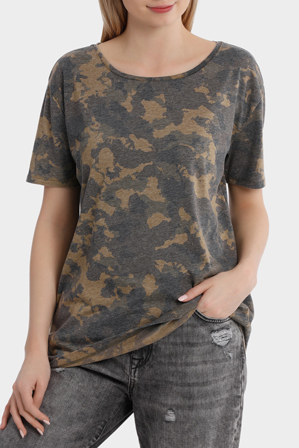 ONLY - Truly Short Sleeve Camo Top