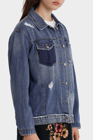 ONLY - Tatiana x Mix Denim Jacket