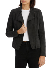 Onlava Faux Leather Jacket