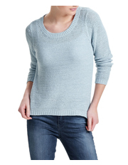 ONLY - Geena XO Long Sleeve Pullover Knit