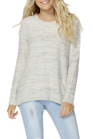 Sass - Ariella Fluffy Lurex Knit Jumper