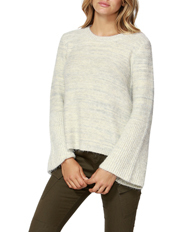 Faye Fluffy Bell Sleeve Jumper