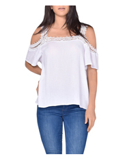 Sass - Octavia Cold Shoulder Top