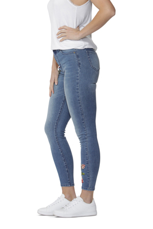 Sass - Marlie Embroidered Jeans