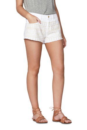 Sass - Embroidery Short