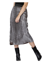 Sass - Bristol Pleated Metallic Skirt