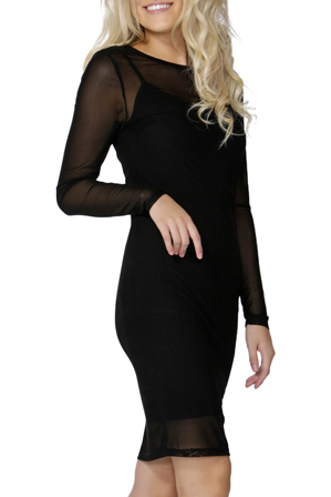 Sass - Tinley Mesh Dress