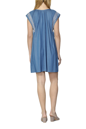 Sass - Issa Embroidered Front Dress