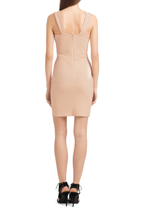 Lipsy - AG Rib Cut Out Bodycon Dress