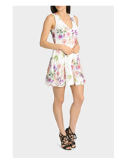 Lipsy - Mk Garden Print Prom Dress