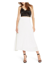 Bardot - Tahiti Pleat Skirt