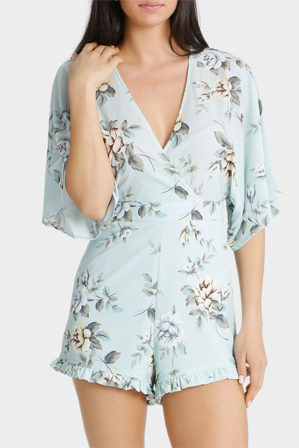 Tiger Mist - Cloudy Summer Playsuit