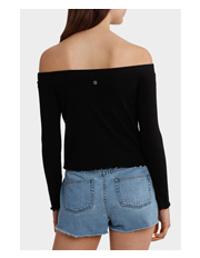 All About Eve - Sophia Rib Long Sleeve Top