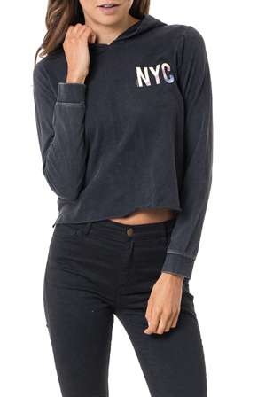 All About Eve - York Long Sleeve Hoody