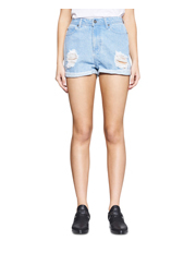 Nana Judy - High N Waisted Cuffed Short