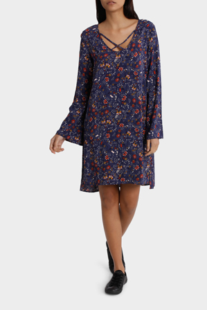 All About Eve - Aria Woven Print Dress