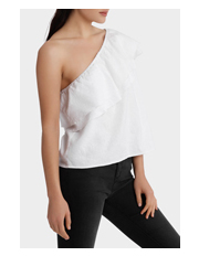 Milk & Honey - One Shoulder Top