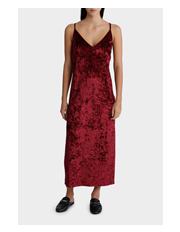 Velvet Crush Slip Dress