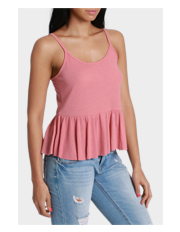 Miss Shop Essentials - Peplum Cami