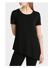 Miss Shop Essentials - Anna Asymmetrical Hem Tee