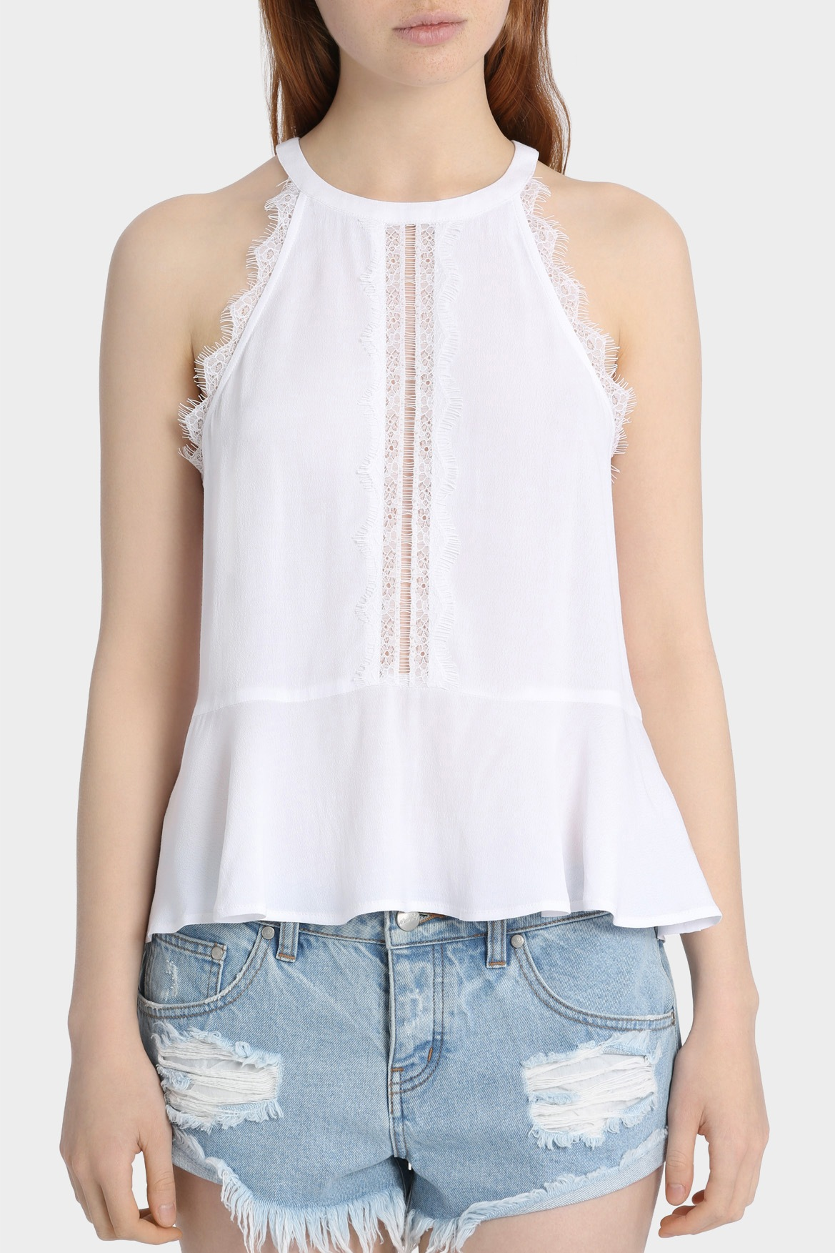 White apron lace trim - White Apron Lace Trim 39