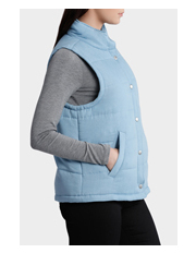 Miss Shop - Chambray Puffa