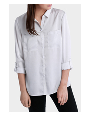 Miss Shop - Mini Spot Long Sleeve Shirt
