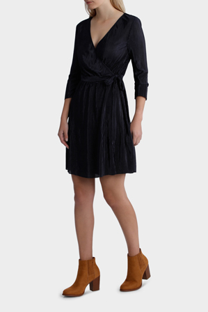 Miss Shop - Plisse Wrap Dress